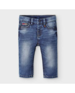 Mayoral Boys Pant Denim Slim Fit Soft Size 6m-36m | Toddler Shorts 2584 Denim