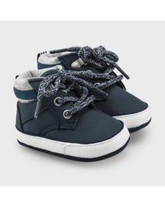 Mayoral Boys Sport Boot Navy With Laces Size 15-19 | Toddler Shoes 9334 Navy
