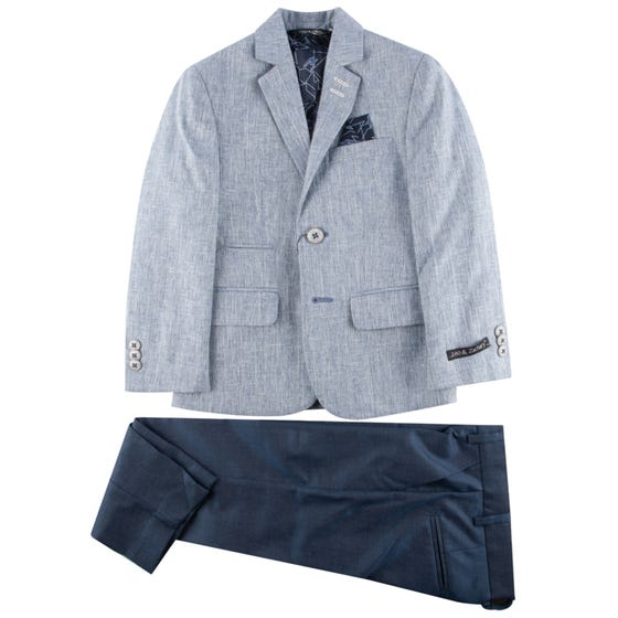 SUIT CHAMBRAY  NAVY PANT SLIM FIT