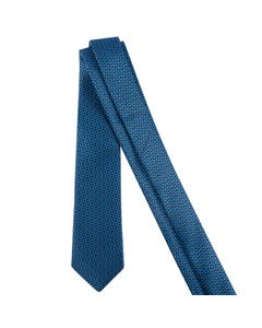 TIE DARK & LIGHT BLUE PRINT