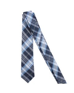 TIE NAVY & BLUE STRIPE