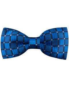 BOW TIE BLUE SQUARE