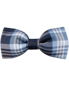 BOW TIE NAVY & BLUE STRIPE
