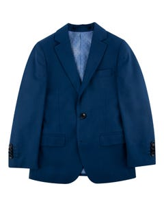 SUIT COBALT BLUE WOOL BLEND