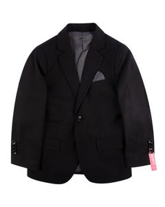 SUIT BLACK WOOL BLEND