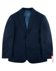 SUIT NAVY WOOL BLEND