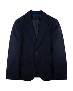 3PC SUIT NAVY HUSKY SOLID