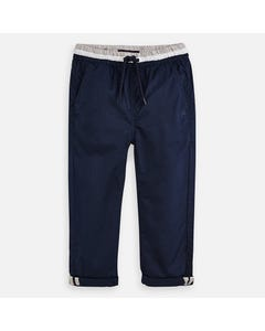 PANT NAVY JOGGER GREY & WHITE WAISTBAND