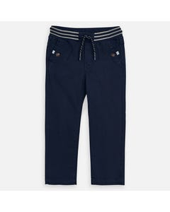 PANT NAVY JOGGER GREY STRIPE WAISTBAND