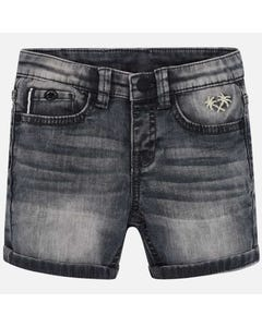 SHORT GREY DENIM
