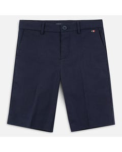 BERMUDA SHORT NAVY ADJUSTABLE WAIST
