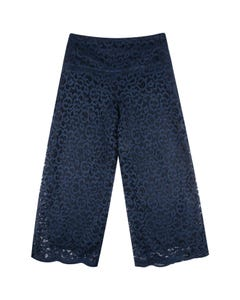 PANT NAVY LACE