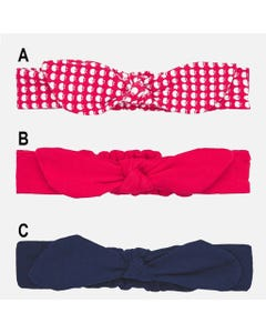 HEADBAND ASSORTED PRINTS & COLOURS SOFT