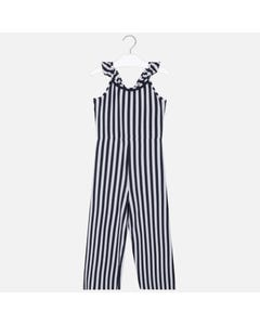 JUMPSUIT NAVY & WHITE STRIPE