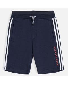 SHORT NAVY FLEECE BERMUDA