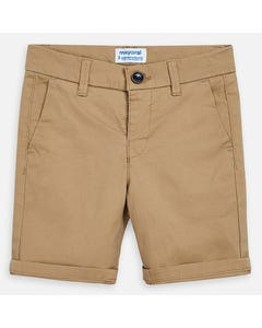SHORTS TAN TWILL CHINO
