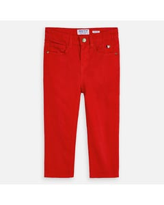 PANT RED SLIM FIT