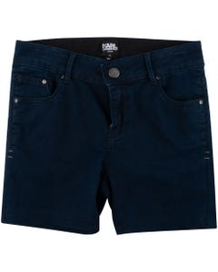 SHORT DENIM BLUE STRETCH
