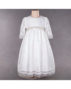 LACE BAPTISM DRESS