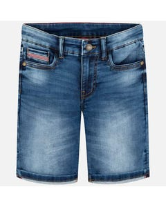 Mayoral Boys Bermuda Denim Pants Size 8-18 | 6235 035 Denim