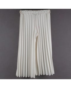 PALAZZO PANT IVORY PLEATED