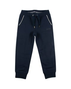 JOGGING PANT NAVY WHITE POCKET TRIM