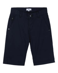 Hugo Boss Boys Regular Fit Bermuda Shorts Size 4-16 | 24629 Navy