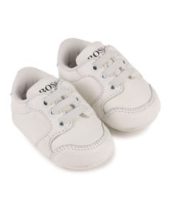 Hugo Boss Boys White Shoe Elastic Laces Size 16-18 | 99080 White