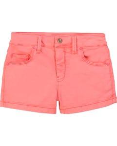 Billieblush Girls Flower Back Pocket Shorts Size 2-10 | 14367 Fuschia