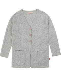 Billieblush Girls Silver Knit Cardigan Size 2-10 | 15734 Silver