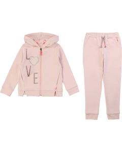 Billieblush Girls 2Pc Tracksuit Zip Closure Size 2-10 | 18100 Pink