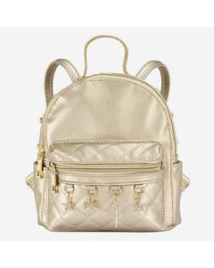 BACKPACK GOLDEN CHARMS TRIM