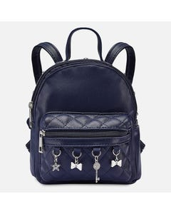 BACKPACK NAVY CHARMS TRIM