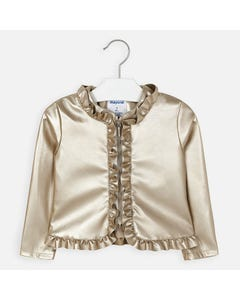 JACKET GOLDEN FRILL EDGE TRIM