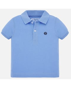 POLO TOP BLUE SHORT SLEEVE