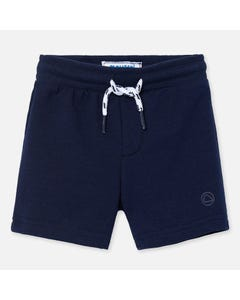 SHORTS NAVY FLEECE
