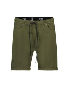 Cristiano Ronaldo Boys Short Green Stretch Cuff & Pull Waist Band Size 4-16 | Boy Shorts P0099B Green