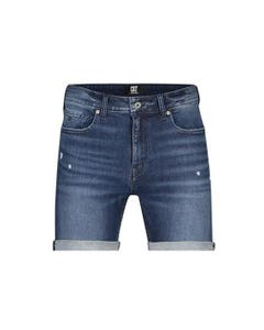 Cristiano Ronaldo Boy Short Denim Slim Fit Stretch Size 4-16 | Baby Boy Shorts P0138B Denim