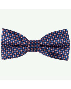 Appaman Boys Bow Tie Pink & Blue Pattern Size OS | Boys Bow Ties W8BOW Blue