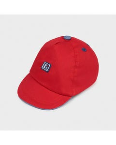 Mayoral Boys Baseball Cap Red Size 40-48 | Baby Hats 9379 Red