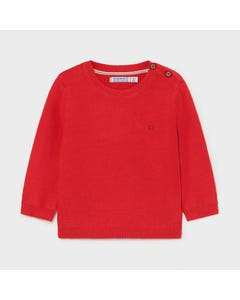 Mayoral Boys Sweater Red Cotton Size 6m-24m | Baby Sweaters 303 Red