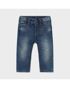 Mayoral Boys Denim Jean Blue Medium Slim Fit Size 6m-24m | Infant Pants 1586 Denim