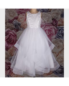GOWN 1988H LACE & TULLE H B SL