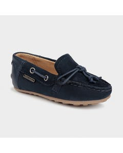 Mayoral Boys Moccasin Shoe Navy Suede & Leather Size 19-33 | Toddler Shoes 41282 Navy