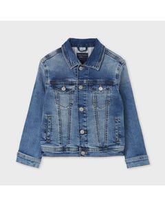 Mayoral Boys Denim Jacket  Size 8-18 | Toddler Boy Sweaters 6481 Denim