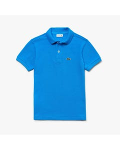 Lacoste Boys Polo Top Ultramarine  Short Sleeve Size 1-16 | Baby Boy Shirts PJ2909 Blue