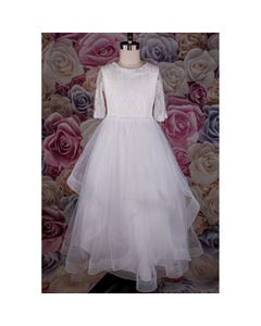 GOWN FG1989H LACE & TULLE SLV