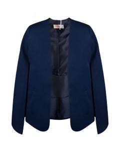 JACKET CAPE NAVY