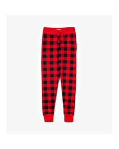 CHRISTMAS PYJAMA LEGGING WOMENS RED PLAID