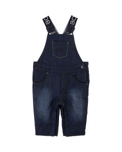 Hugo Boss Boys Denim Overall Size 3M-18M | J94237 Denim